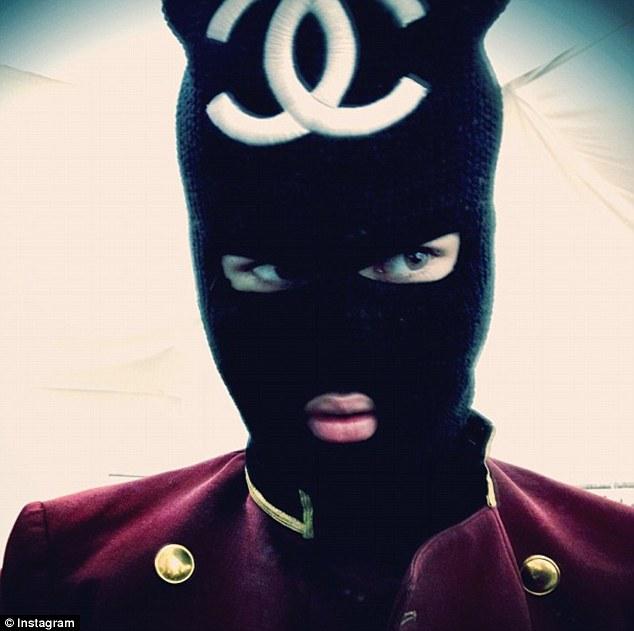 justinbieber_Chanel balaclava