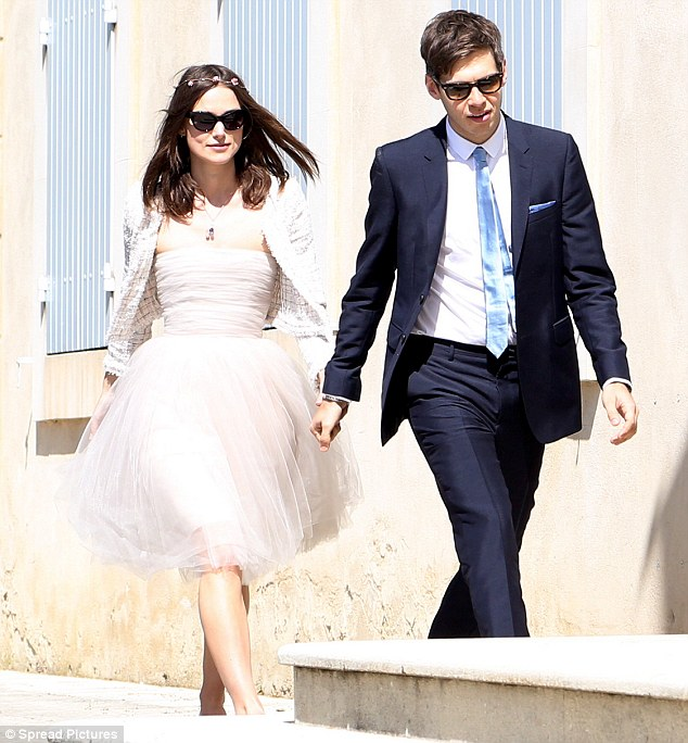 Featured image for Kiera Knightley's Low-Key Wedding