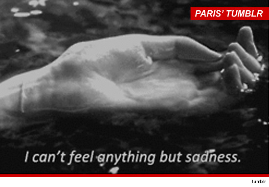 Paris Jackson's Tumblr