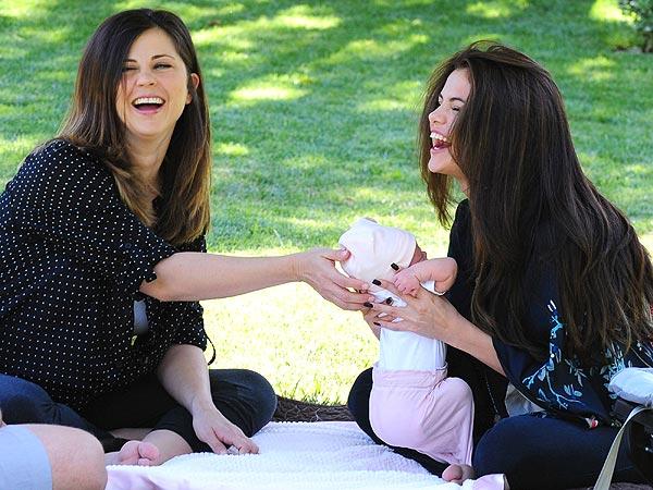 Mandy Teefey & Selena Gomez