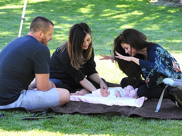 Brian, Mandy & Selena Gomez