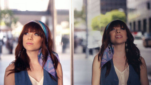 Carly Rae Jepsen is a daydreamer on the music video. (Disney)