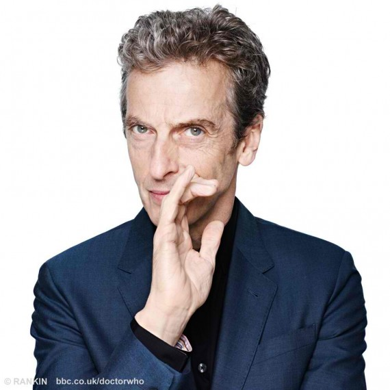 Peter Capaldi: your new alien doctor. (Rankin)