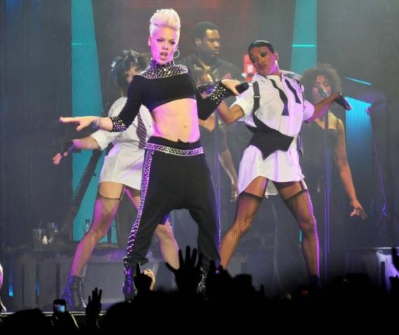 P!nk? A lesbian? No big deal. (WENN)