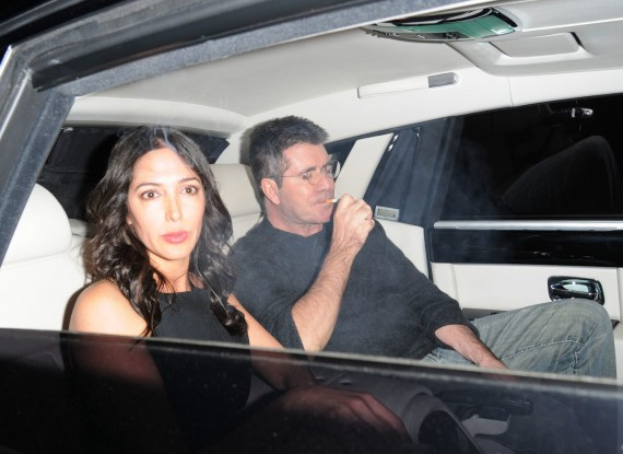 Simon Cowell, a father figure? Why not!? (WENN)