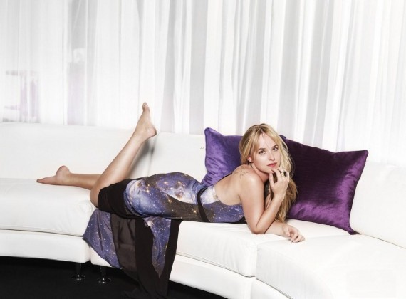 Dakota Johnson is Anastasia Steele. (FOX)