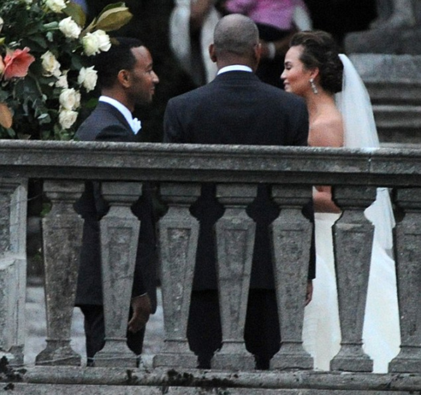 Congratulations to John Legend and Chrissy Teigen! (Ramey)