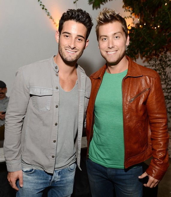 Lance Bass proposes to his BF! (WireImage)