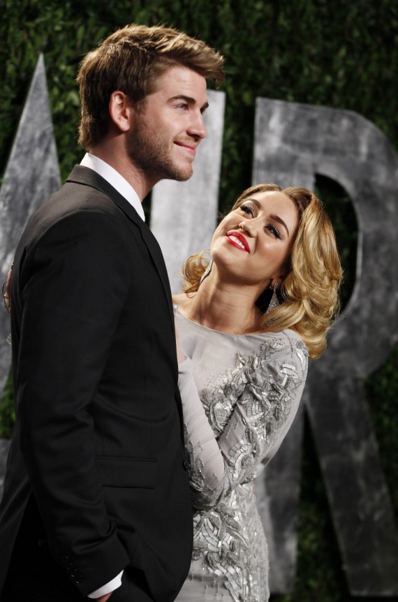 Liam Hemsworth proposed to Miley Cyrus on June 2012. (Reuters)