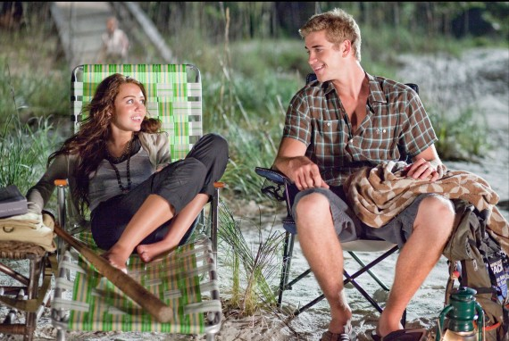 "The two first met at the set of ""The Last Song"". (Touchstone)"
