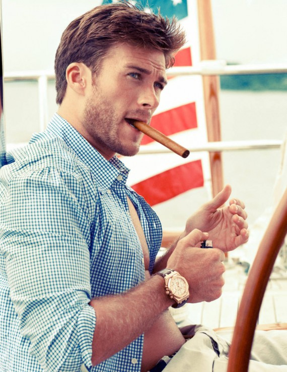 Like father, like son: Scott Eastwood is one fine man. (Noe DeWitt)