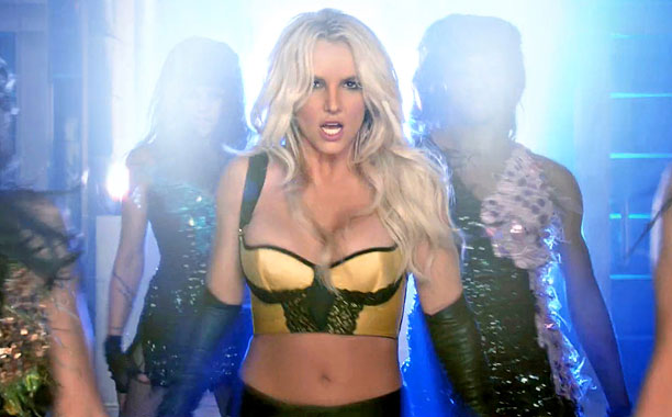 "Featured image for Britney Spears Orders Everyone to ""Work B**ch""! [VIDEO]"