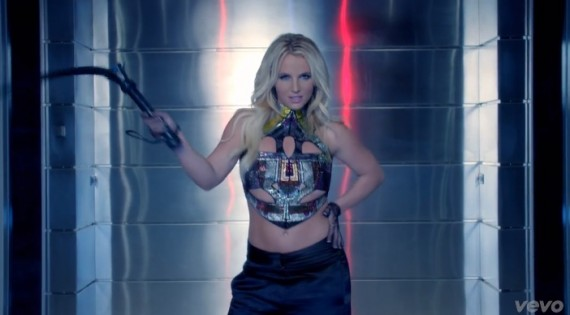 Britney Spears: from the Smurfs 2 to this. We likey. (Vevo)
