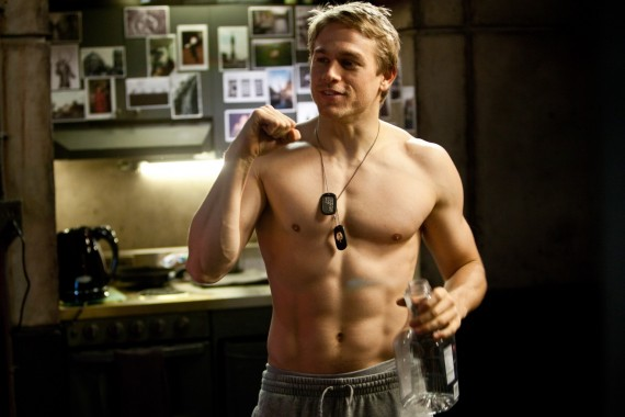 Damn. Charlie Hunnam could've made a great Christian Grey. (PR)