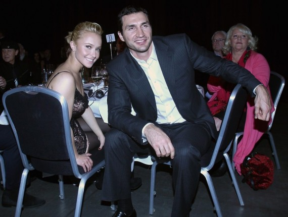 Another one for the books: Hayden Panettiere lets the cat out of the bag. (JustJared)
