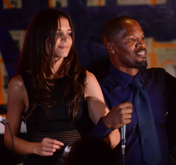 Katie Holmes and Jamie Foxx: Do you believe it? (Reuters)