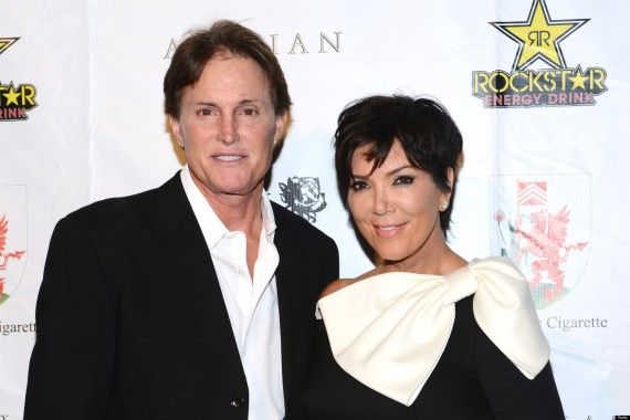 It's over for TV couple Kris Jenner and Bruce Jenner. (Getty)