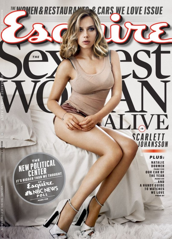 Scarlett Johansson, getting sexier and sexier as time passes.