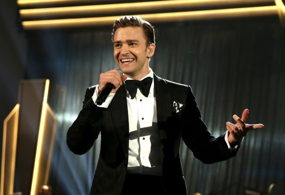 justin timberlake cbs local grammy awards 2013 getty