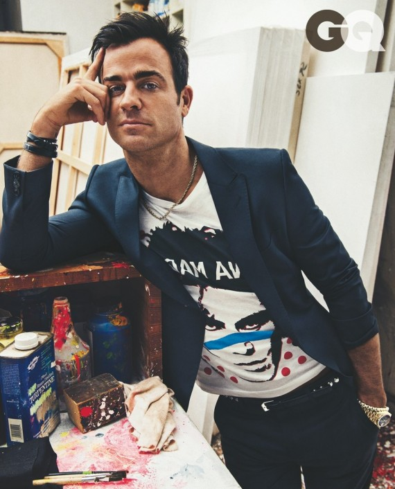 Justin Theroux GQ October 2013