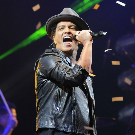 Bruno Mars WENN performing