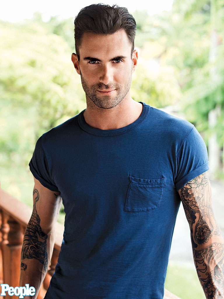 "Adam Levine Is The ""Sexiest Man Alive"" For 2013!"