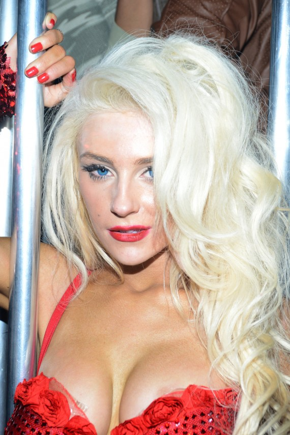 Courtney Stodden: young, wild, and super free. (Getty)