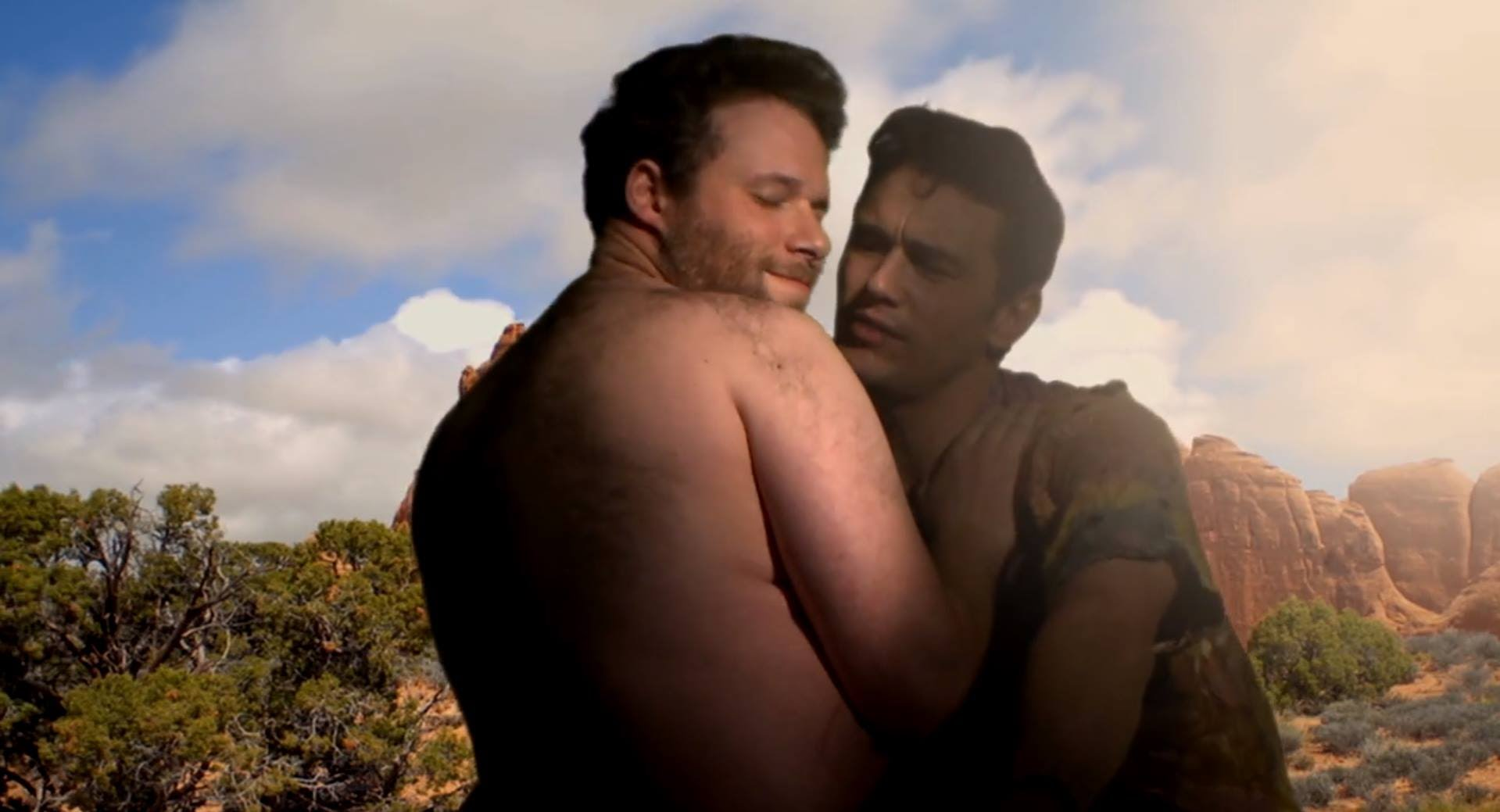 James Franco, Seth Rogen Pull Off A 'Kimye'! [VIDEO]