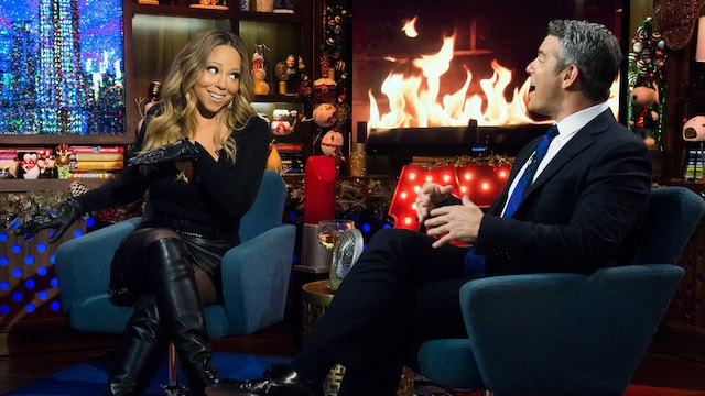 "Featured image for 'Watch What Happens' When Mariah Carey Talks About Eminem, ""Glitter"", and Nick Cannon"