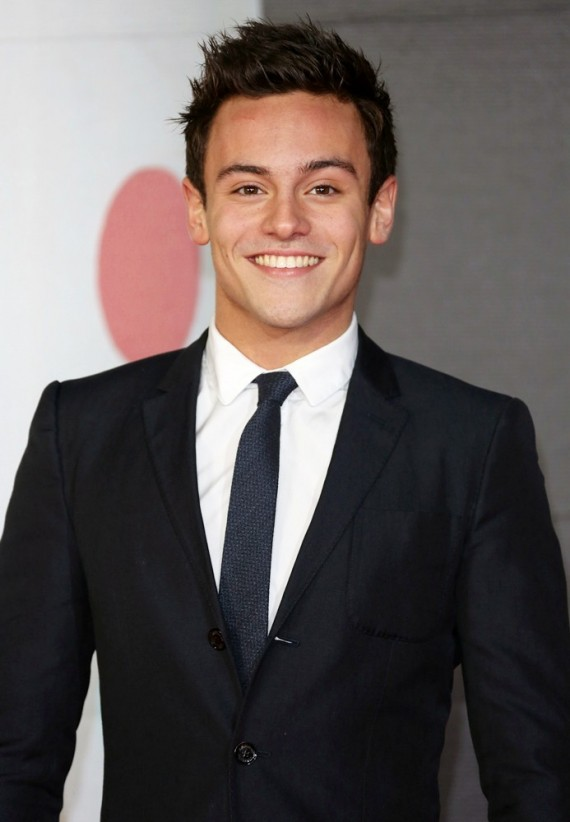 tom daley 2013 brit awards WENN