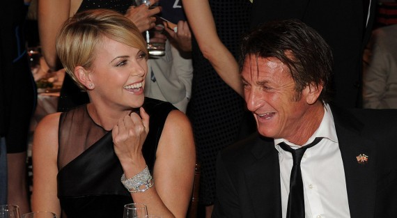 Charlize Theron and Sean Penn - Help Haiti Home Gala