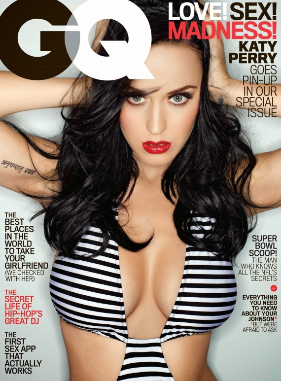 Katy Perry for GQ February 2014