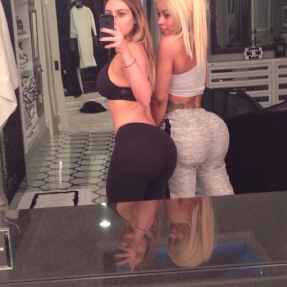 Kim Kardashian Blac Chyna