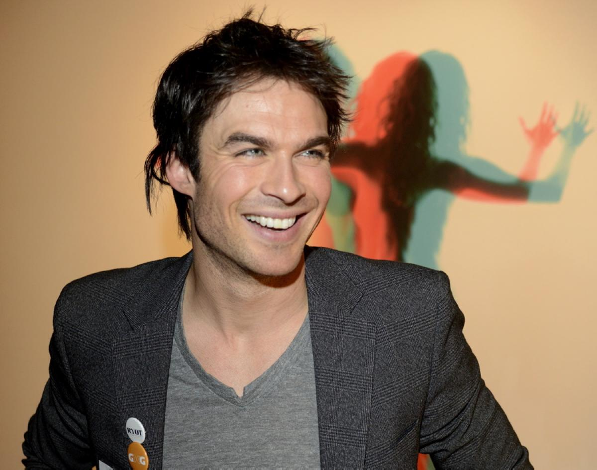 News Ian Somerhalder