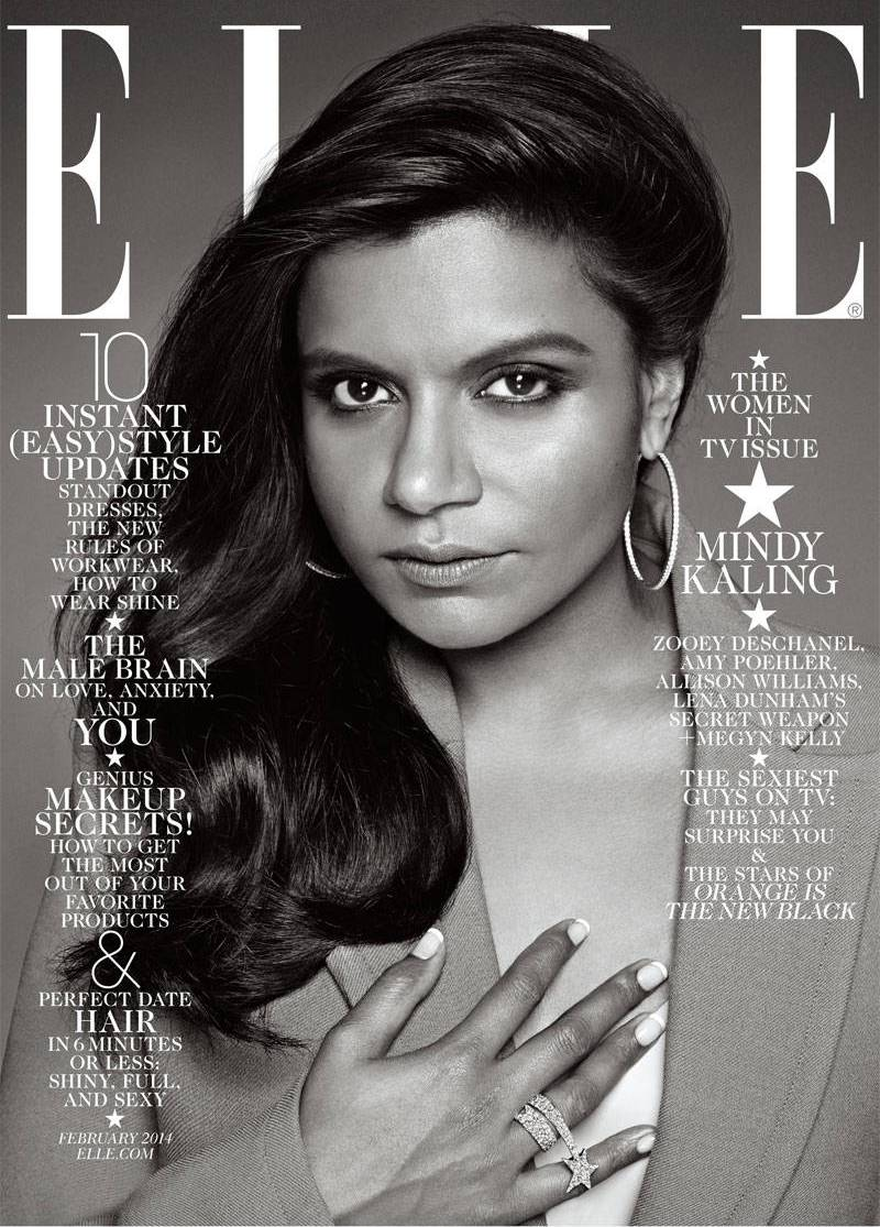 Mindy Kaling's 'ELLE' Cover Causes Stir