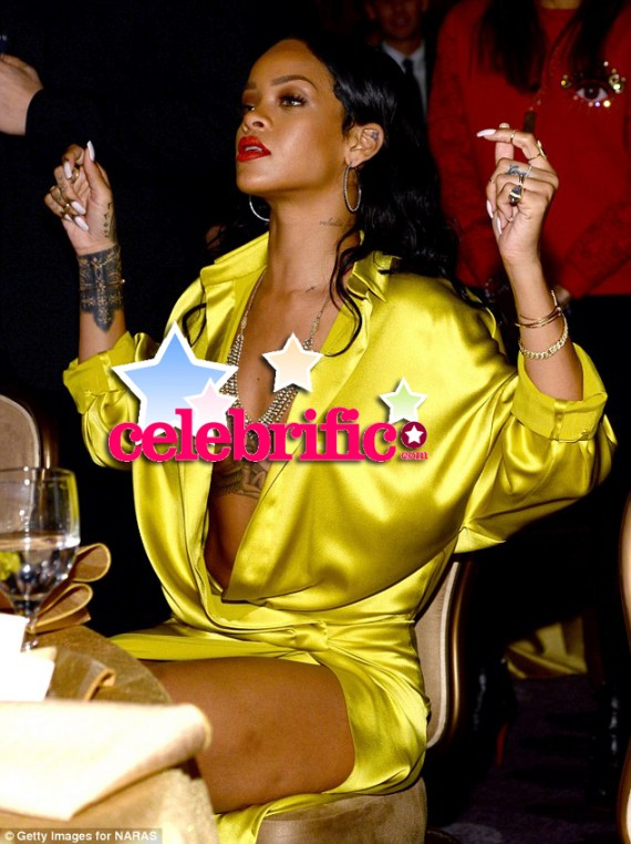 rihanna on grammys