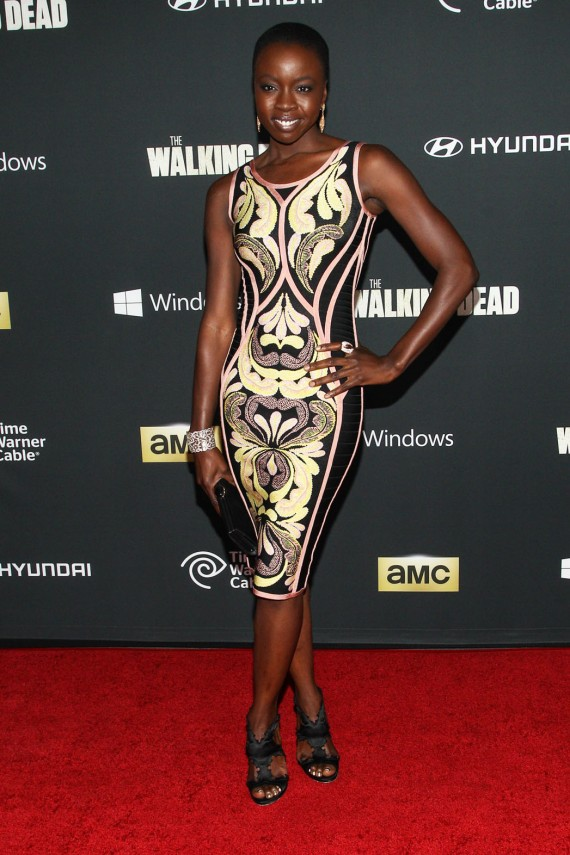 Danai Gurira hot Walking Dead actress