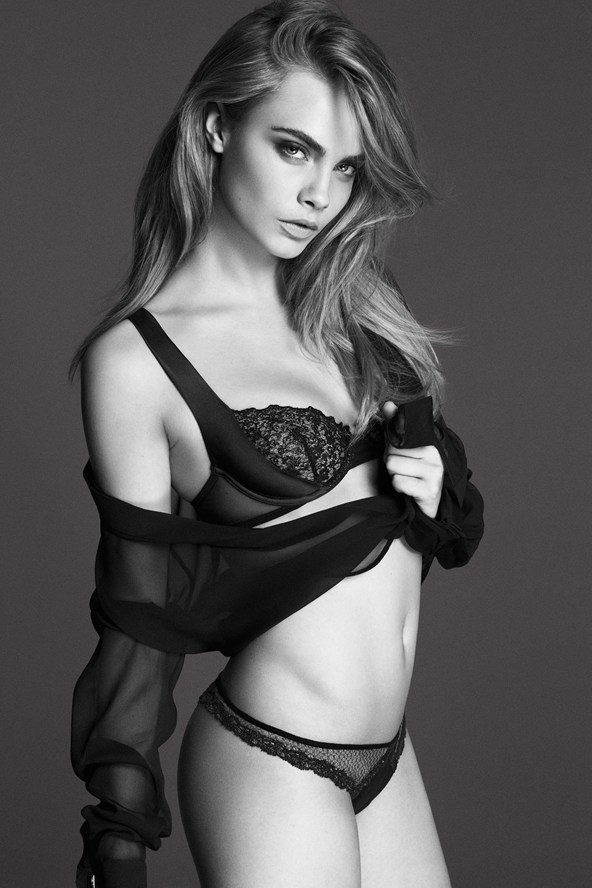 Featured image for Cara Delevingne lingerie