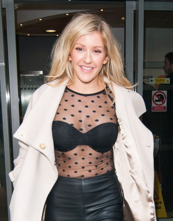 Ellie Goulding sheer