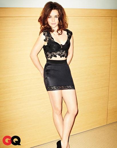 Emilia Clarke GQ Hot