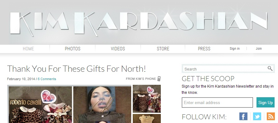 Featured image for Kim Kardashian blog