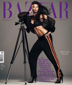 Adriana Lima Harper's Bazaar cover