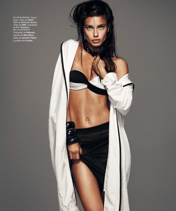 Adriana Lima Harper's Bazaar hot