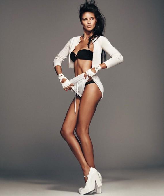 Adriana Lima Harper's Bazaar sexy