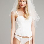Alena Blohm Gets Wed In Lingerie