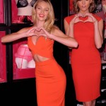 Candice Swanepoel And Karlie Kloss Pose With Lingerie
