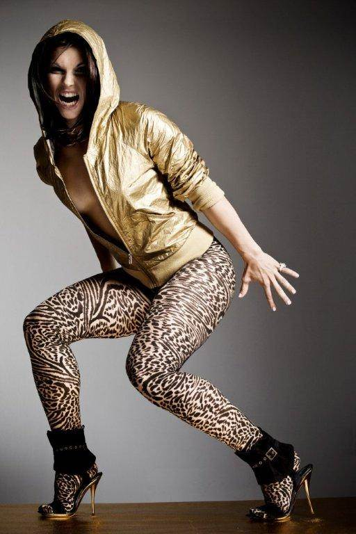 anna fenninger as a cheetah