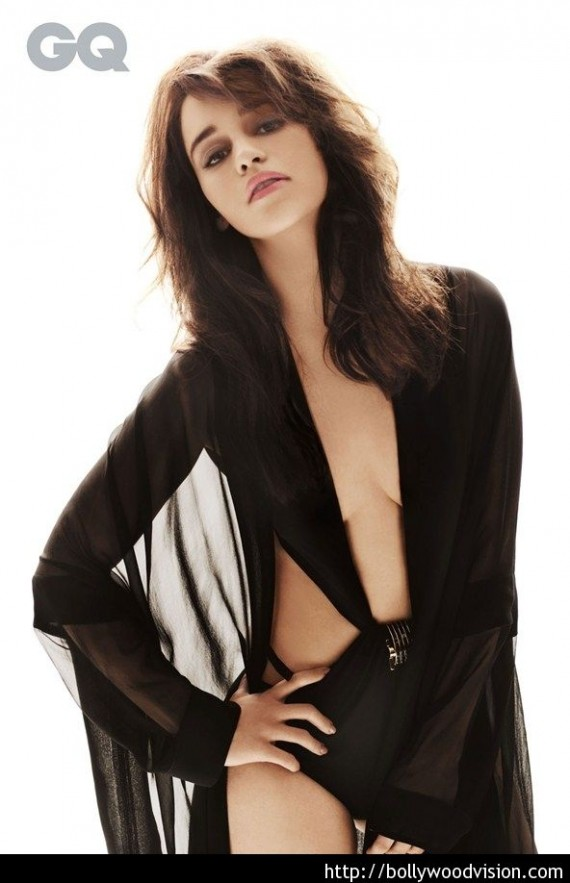 Emilia Clarke sexy GQ