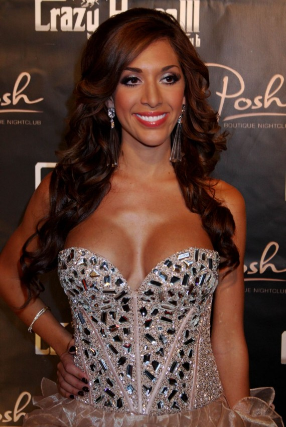 Farrah Abraham in a hot dress