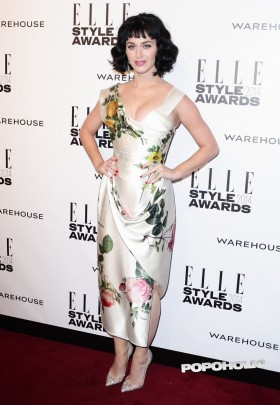 Katy Perry at the Elle Style Awards hot